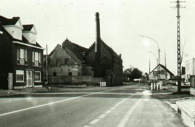 Het 'vellenkot' in de Eekse Stationsstraat