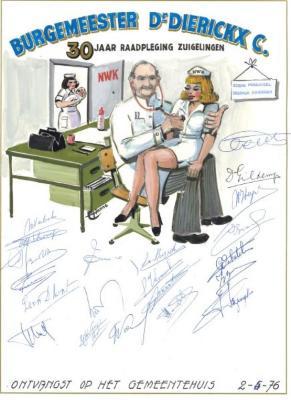 Burgemeester Dr. Carlos Dierickx in Guldenboek