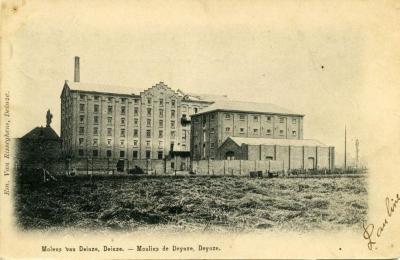 De Molens van Deinze rond 1903