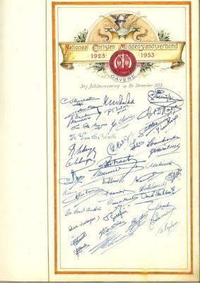 Het Nationaal Christelijk Middenstandsverbond viert 30-jarig bestaan