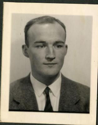 Marc Gevaert, zoon van Edgar en Marie Minne
