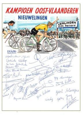 Wielrenner Yves Verlinden wordt kampioen van Oost-Vlaanderen