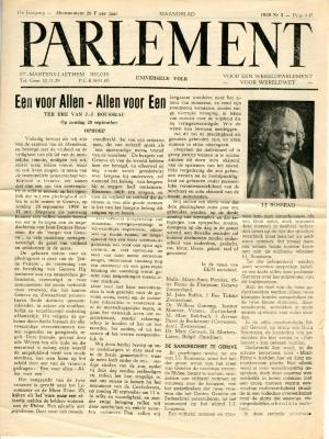 Parlement 1953