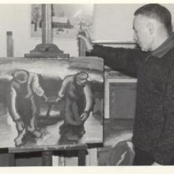 Kunstschilder Henri De Cocker (1908-1978) - Vurste