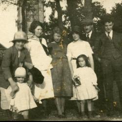 De broers en zussen van Marie Minne