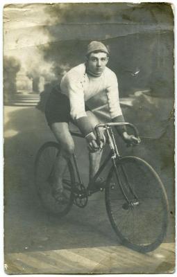 Wielrenner René Verleye