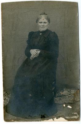 Rosalie Geiregat, herbergierster van café De Vogelzang te Nazareth