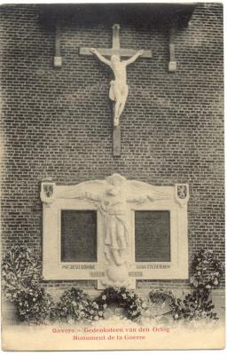 Gavere Gedenksteen van den Oorlog - Monument de la Guerre