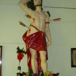 Het Sint-Sebastiaansbeeld van de Asperse schutters