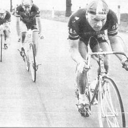 Arthur 'El Toro' Decabooter in Parijs-Roubaix 1960