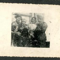 Duits soldaat ingekwartierd bij Belgisch gezin