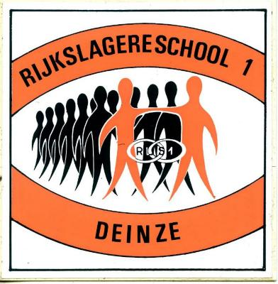 Sticker rijkslagereschool Deinze 1