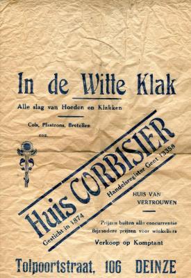 In de Witte Klak - Huis Corbisier