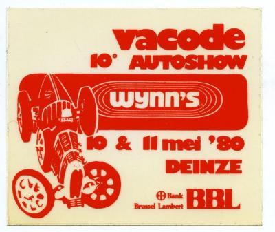 Vacode 10e autoshow