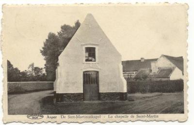 Asper   De Sint-Martinuskapel - La Chapelle de Saint-Martin