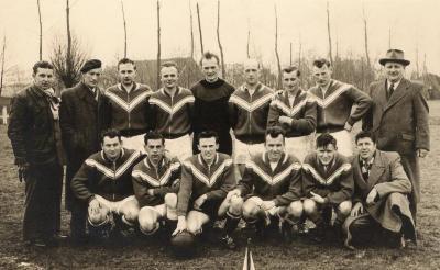 Voetbalploeg Nazareth, 1955