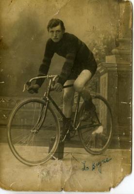 Een jonge Lucien Buysse
