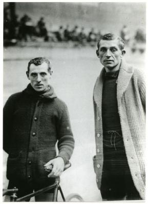 Lucien Buysse en Jules Van Hevel