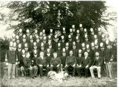 De Deinse fanfare Sint-Cecilia anno 1905
