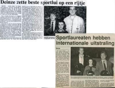 Sportac '86 prominent aanwezig op Deins sportgala
