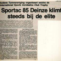 De steile opgang van Sportac '86
