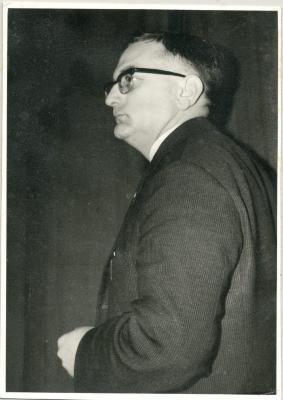 Gentiel De Smet als voorzitter van de Burgersbond
