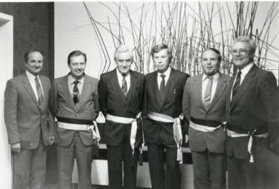 Het Pints College van Burgemeester en Schepenen anno 1983