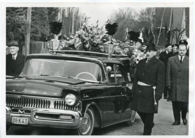 De begrafenis van burgemeester Karel Anthierens