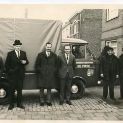 De eerste vrachtwagen van de gemeente De Pinte