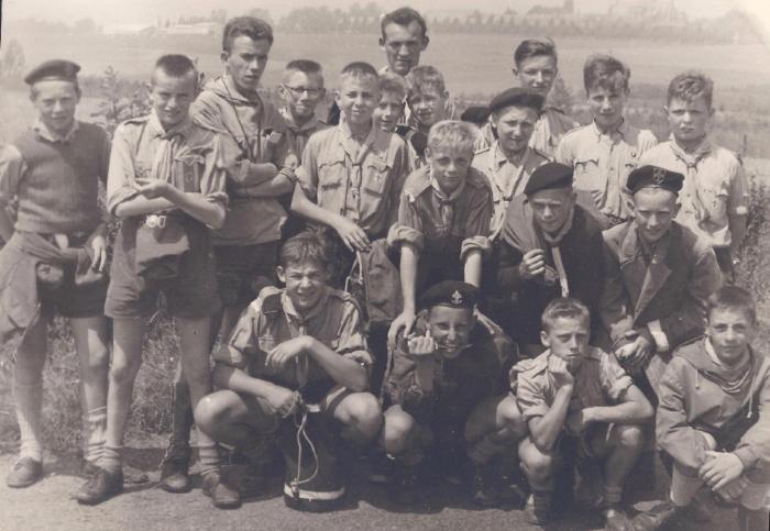 Buitenlands kamp in 1959