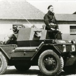 """Bevrijding: Britse """"Dingo"""" scout car"""