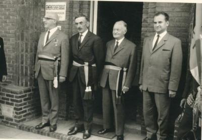 Het College van Burgemeester en Schepenen van De Pinte anno 1965