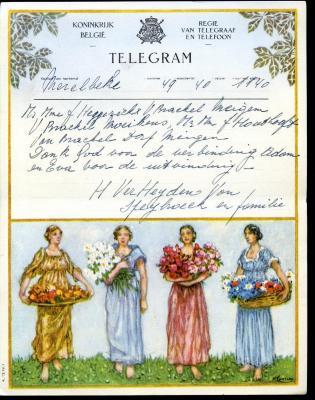 Huwelijkstelegram naar Meigem (3)