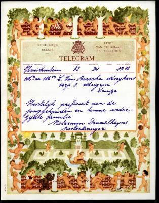 Huwelijkstelegram naar Meigem (4)