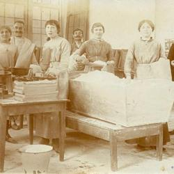 Voedselbedeling tijdens de Eerste Wereldoorlog te Eke