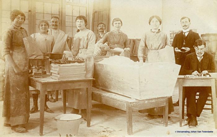 Voedselbedeling in Nazareth tijdens de Eerste Wereldoorlog