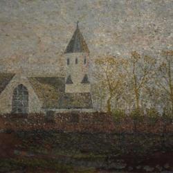De oude kerk van Grammene