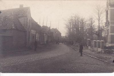 De Olsense Kerkstraat anno 1918
