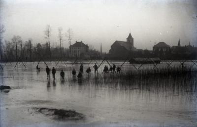 De Scheldemeersen met Eke Dorp in de achtergrond